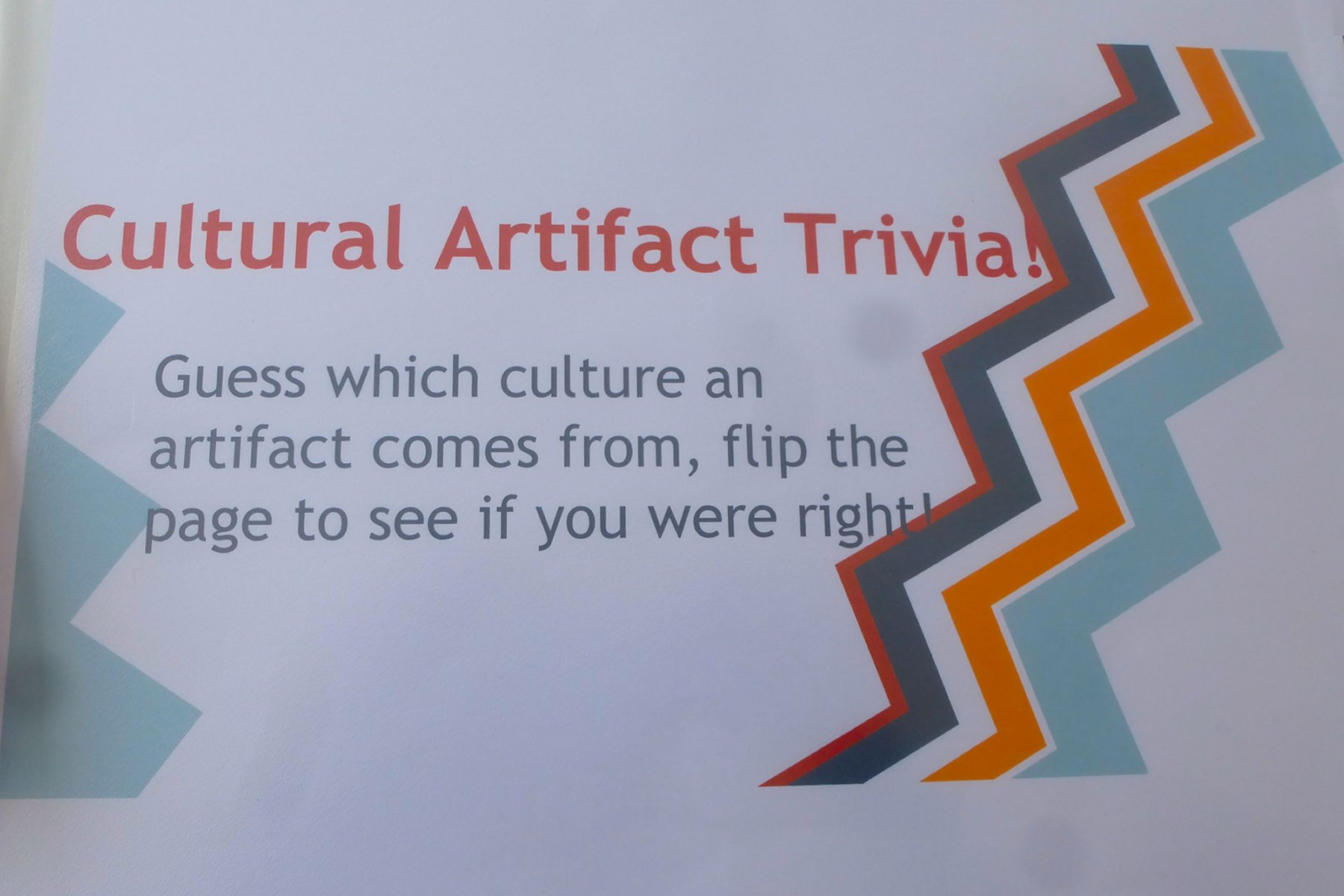 a speech about cultural artifacts What are some examples of cultural artifacts update cancel what are some examples of social and cultural artifacts what do artifacts tell us about a culture.